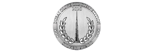 Premio Plata DUBAI Olive Oil Competition 2020